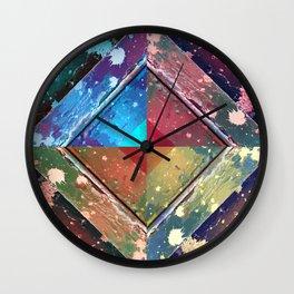 Texutre 10. 4 Seasons Wall Clock