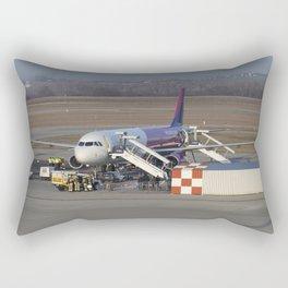 Wizz Air Jet And Fire Brigade Rectangular Pillow