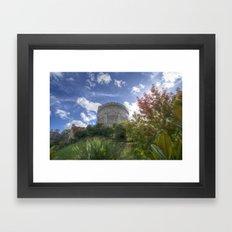 Round Tower - Windsor Castle Framed Art Print