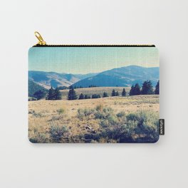 The High Plains of Lamar Valley: Yellowstone National Park Carry-All Pouch