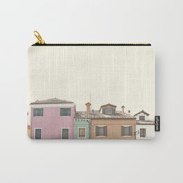 Colored Houses Carry-All Pouch
