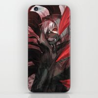 tokyo ghoul iPhone & iPod Skins featuring tokyo ghoul by keiden