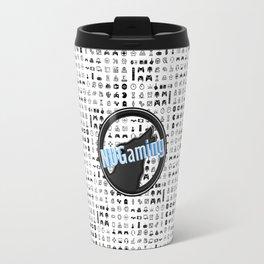 NUGaming Icon Checker Print Travel Mug