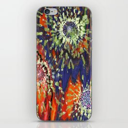 Induced Cosmic Revelations (Four Dreams, In Mutating Cycle) iPhone Skin