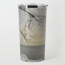 Curves of the Silver Birch by Teresa Thompson Travel Mug