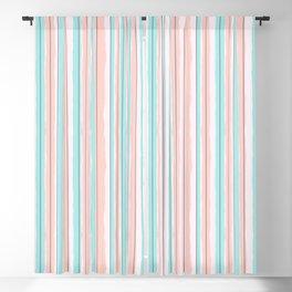 Candy Jiggle Stripes Blackout Curtain