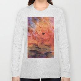 Soft Twilight Rose Long Sleeve T-shirt