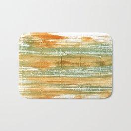 Vegas gold abstract watercolor Bath Mat