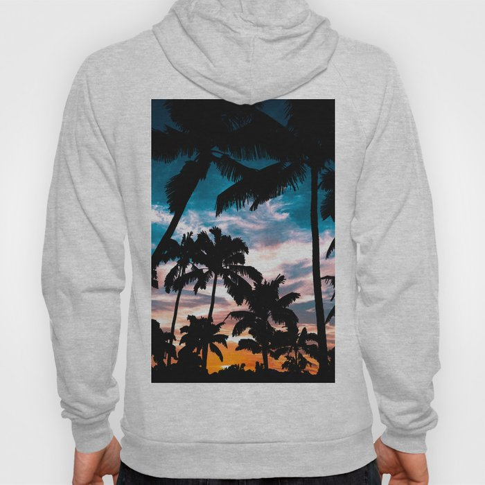 Palm trees dream Hoody