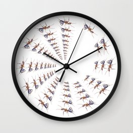 Formica (Wood Ant) Wall Clock
