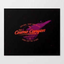 Cosmo Canyon Canvas Print