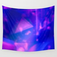 cosmic Wall Tapestries featuring cosmic by Hannah Siegfried