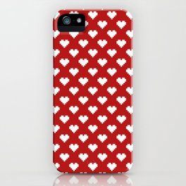 Valentine's Day Pattern iPhone Case