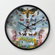 Chrysalis Wall Clock