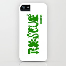 Animal Rescue iPhone Case