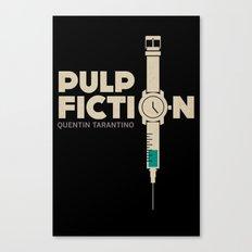 Pulp Fiction (portrait)  Canvas Print