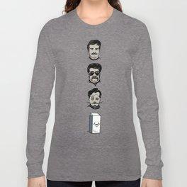 Mustache Club Long Sleeve T-shirt