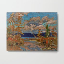 Tom Thomson The Lake, Bright Day 1916 Canadian Landscape Artist Metal Print