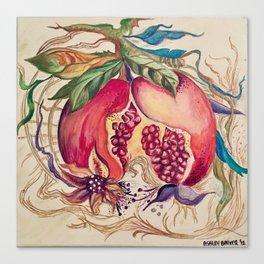 Pomegranate Canvas Print