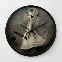 broken dawn Wall Clock