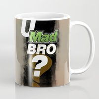 grand theft auto Mugs featuring Grand Theft Auto Online - the words you will surely hear... by W.Flemming