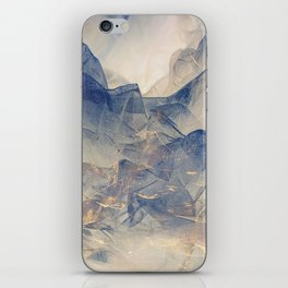 Tulle Mountains iPhone Skin
