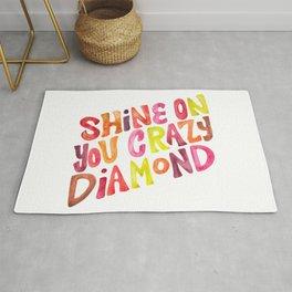 Shine On You Crazy Diamond – Rainbow Palette Rug