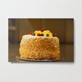 Italian Mille-Feuille Cake Metal Print