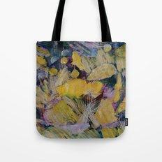 Gloden Harvest Collage Tote Bag