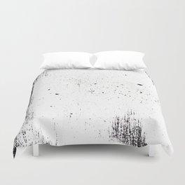 white space Duvet Cover