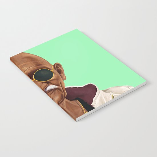 Hipstory -  mahatma gandhi Notebook