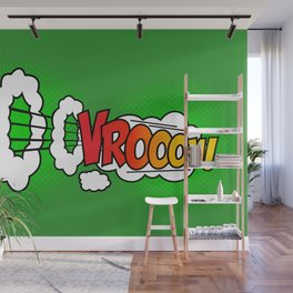 Vroom ! Wall Mural