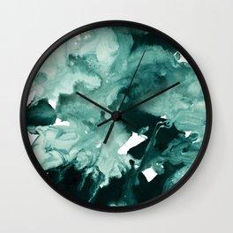 inkblot marble 4 Wall Clock