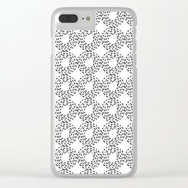 Hey Hay Bales Clear iPhone Case