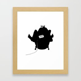toasty Framed Art Print