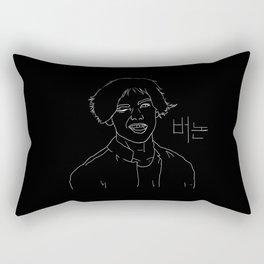 Hansol Chwe (Vernon from Seventeen) Rectangular Pillow