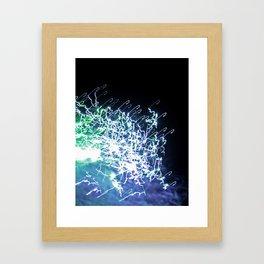 Another galaxy Framed Art Print