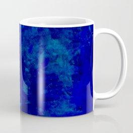 Blue Night- Abstract digital Art Coffee Mug