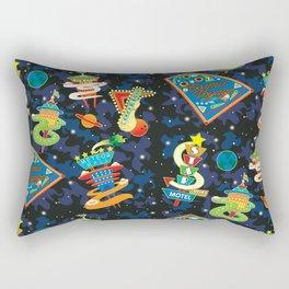 Cosmic Voyage Rectangular Pillow