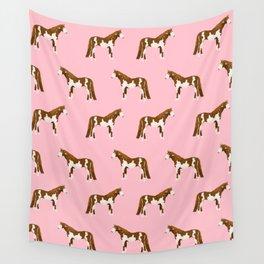 Pinto Horse gifts farm animal pet lover horseback riding Wall Tapestry