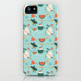Summer in Siargao iPhone Case