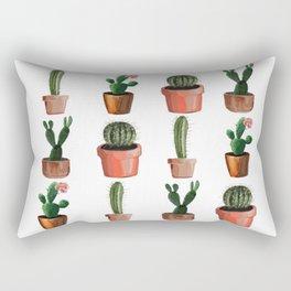 Various Cacti Rectangular Pillow