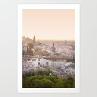 florence Art Prints featuring Florence by ocophoto