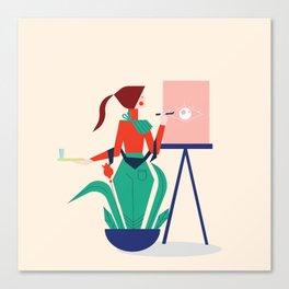Mood 3 Canvas Print