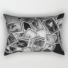 New tarot | Black and white | New age | Gypsy | Fortune telling | Tarot cards Rectangular Pillow