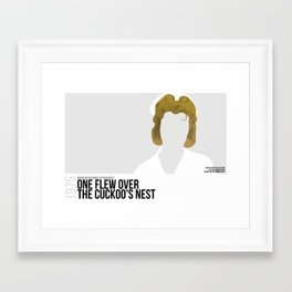 One Flew Over the Cuckoo's Nest Framed Art Print