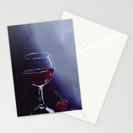 Wine-Ding Down Stationery Cards