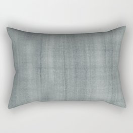 PPG Paint Night Watch Pewter Green Dry Brush Strokes Texture Pattern Rectangular Pillow