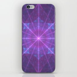 Infinite Power Grid iPhone Skin