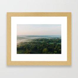 Kentucky from the Air Framed Art Print